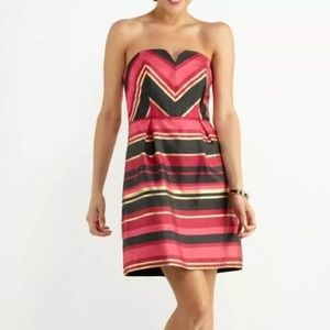 NWT Vineyard Vines Metallic Striped Party Dress